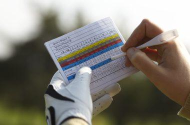 Writing golf handicap
