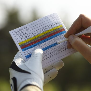 Writing golf handicap