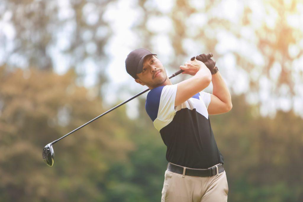Male golf