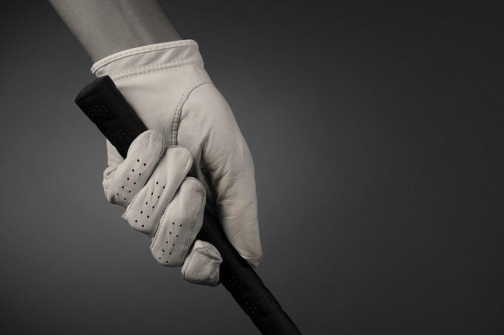 Closeup of a Golfers