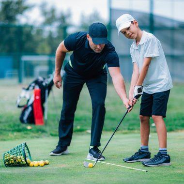 Personal golf lesson