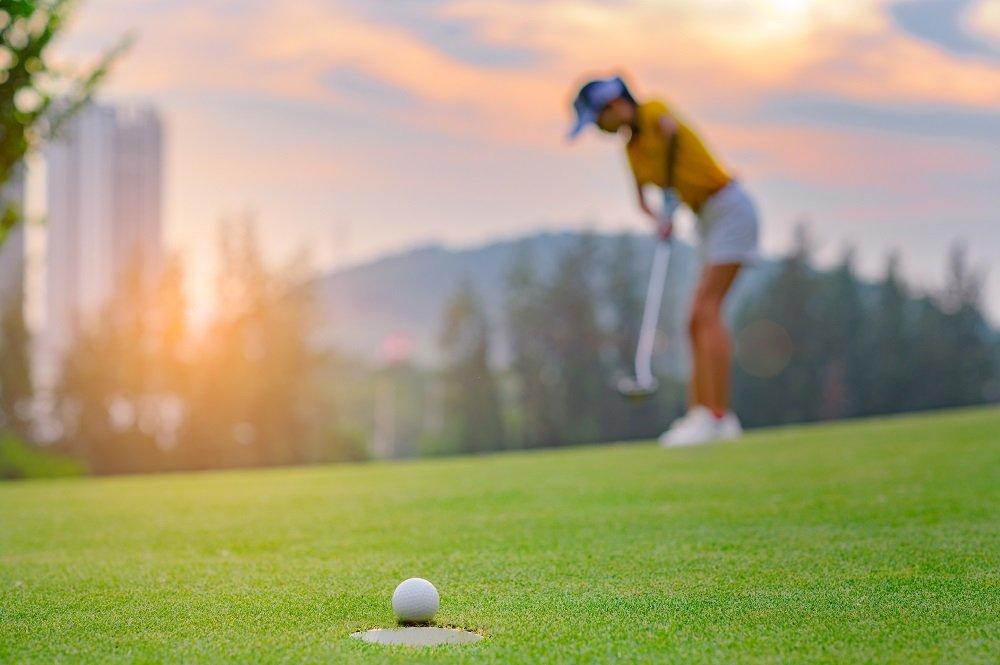 golf ball run